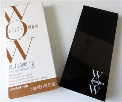 color wow light brown going gray get color wow root cover up