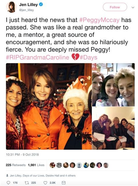 Peggy McCay, Beloved Days of Our Lives Star, Dead at 90