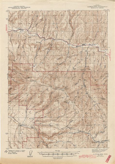 topo map of oregon oregon historical topographic maps perry casta 241 eda map