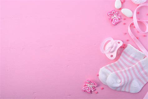 Pink Baby Shower Background by It S A Pictures Images And Stock Photos Istock