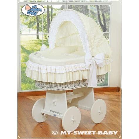 in vimini per neonato neonato vimini bellamy crema culle vimini