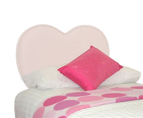 girls fabric headboard sweetheart girls natural upholstered headboard