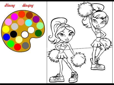 brats number bratz coloring pages coloring pages for girls youtube