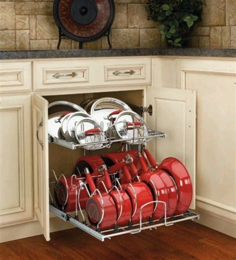 Kitchen Storage Ideas For Pots And Pans Kitchen Storage For Pots And Pans Kitchen Pinterest