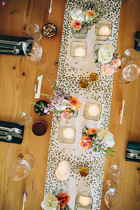 Design Inspiration 8 Creative Table Runner Ideas