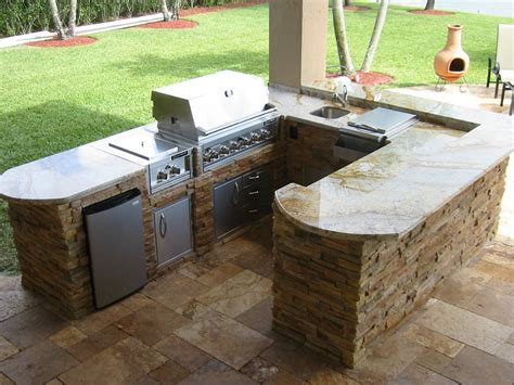 Outdoor Bbq Kitchen Ideas by Outdoor Kitchen Grills L Shaped Kitchen Designs
