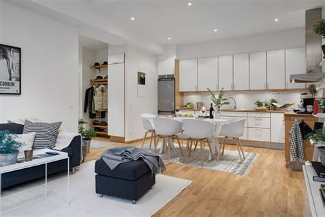smart floor plan    space  small nordic apartment