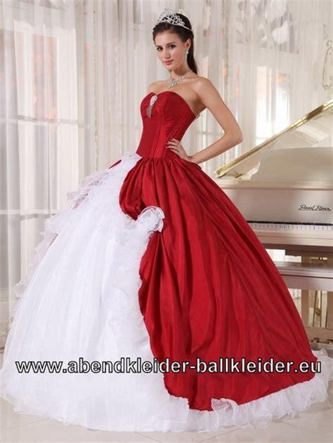Brautkleider Weiß Rot Mit Schleppe by Hochzeitskleid Rot Weiss