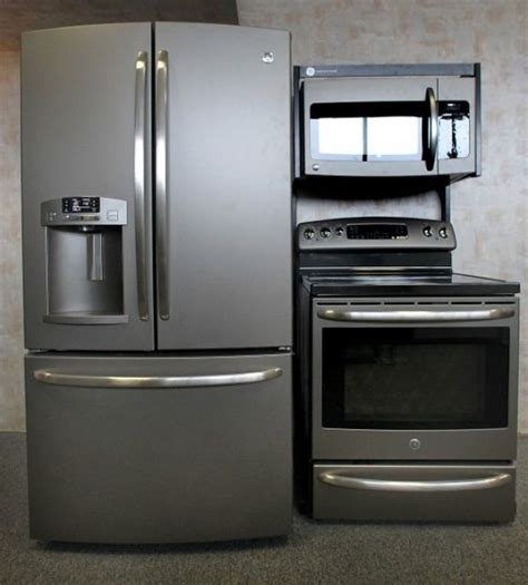slate kitchen appliances ge s new quot slate quot appliances sleeker than stainless steel