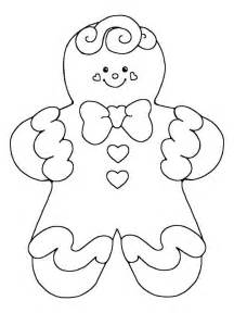 Christmas coloring page gingerbread man gingerbread man coloring page