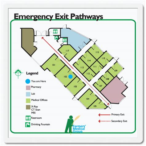 Floor Plan Signs | floor plan signs you design and print in snap frames