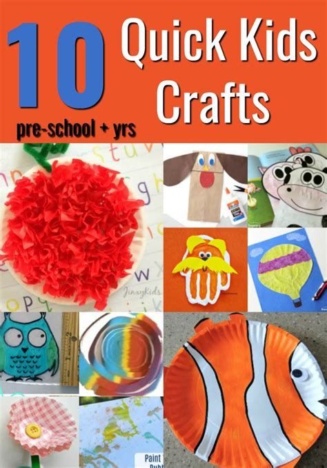fast crafts for 10 crafts mommies reviews