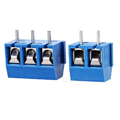 Terminal Konektor 2p Kecil 5mm pitch 10 kf301 2p 10 kf301 3p terminal block connectors free shipping dealextreme