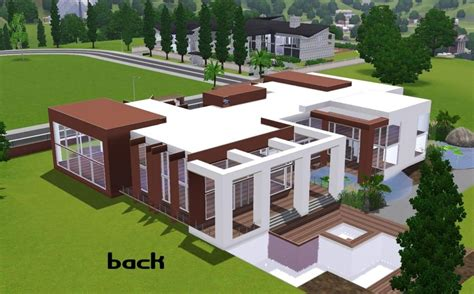 modern house floor plans sims 3 awesome home design modern