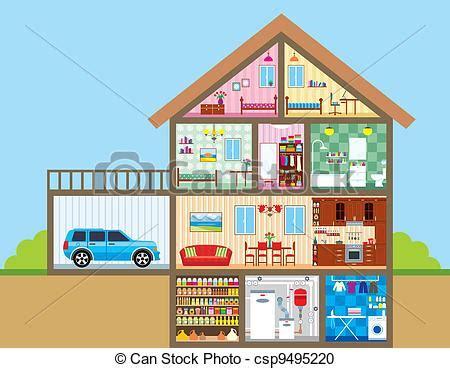 casa clipart vector clip de casa vector ilustraci 243 n color