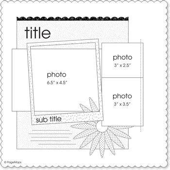 scrapbook layout maps 17 best images about page map sketches on pinterest