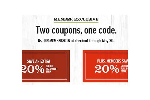 rei member discount coupon