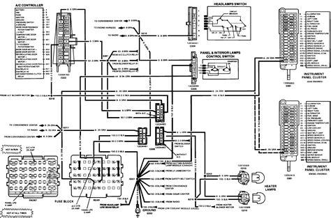1985 Caprice Fuse Box Diagram Wiring Diagram Database
