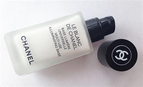 Le Blanc De Chanel Primer chanel le blanc illuminating base primer