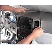 How To Remove Radio / Navigation From 2005 Jeep Cherokee For Repair