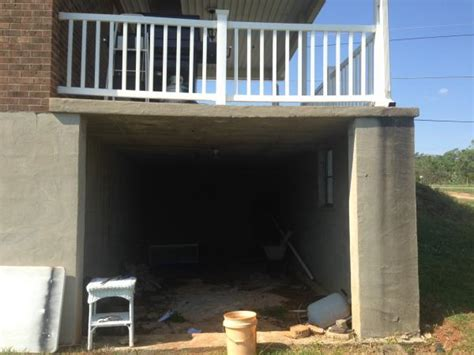 Carport Attached To Garage by Suspended Slab Carport Sagging Doityourself Com