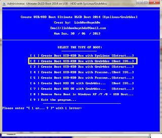 cara membuat bootable usb drive ultimate dlcd boot 2014 v2