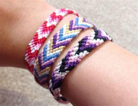 Cool Macrame Bracelet Patterns - cool chevron friendship bracelet pattern