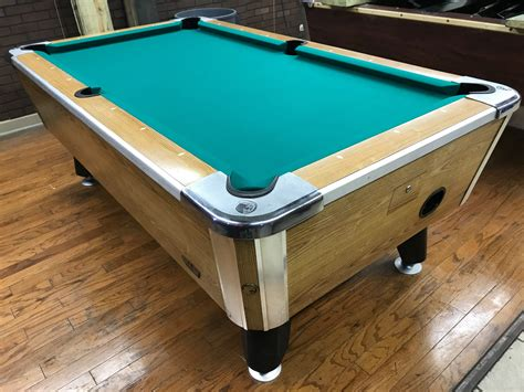 Used Valley Pool Table Table 042617 Valley Used Coin