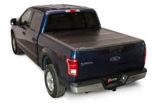 Tonneau Cover On F150 2015 2017 Ford F 150 Folding Tonneau Cover Bakflip