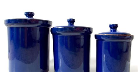 staggering cobalt blue glass kitchen canisters decorating ideas cobalt blue ceramic canister set made in italy italian