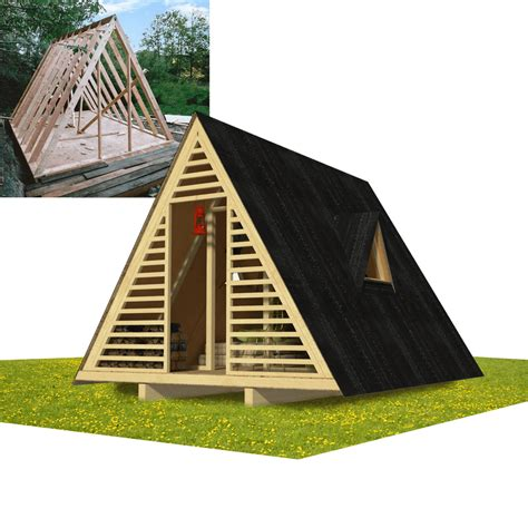 frame shed plans