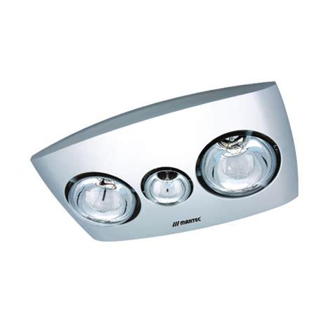 Martec Contour 2 Bathroom Exhaust Heat Light Heated Lights For Bathrooms