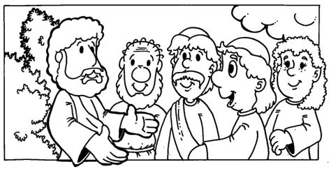 coloring page the lost sheep the lost sheep parable coloring pages