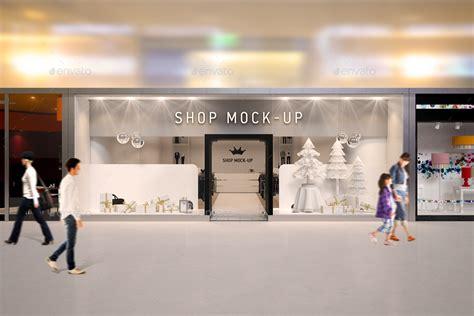 shop window branding mock up by ayashi graphicriver