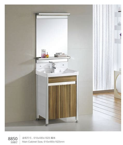 modern wall mount country style  waterproof rv bathroom