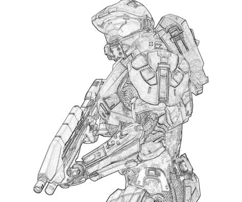 halo 5 coloring pages free halo 5 coloring pages