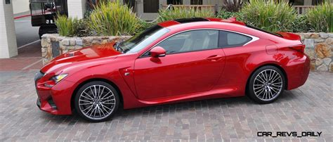red lexus 2015 lexus rc f ultra in red flawless animations