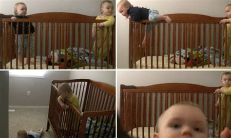 Twin Baby Dayne Escapes From His Crib Then Destroys The Baby Escapes From Crib