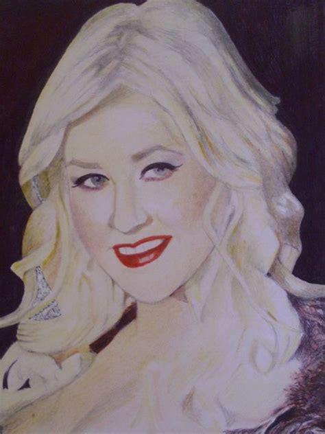 Aguilera Is Has Low Standards by Portrait Of Aguilera Treasuregem Artpages