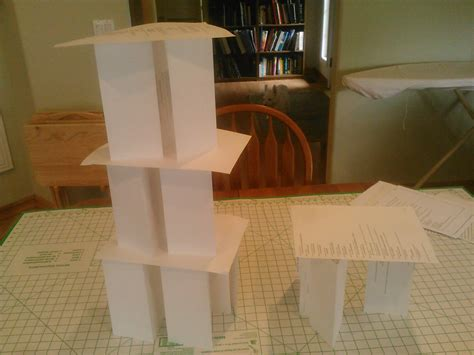 How To Make A Paper Tower - build a paper tower a cooperative challenge in