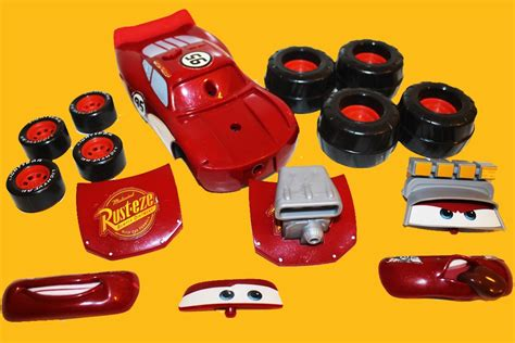 gear 2 go gear up and go lightning mcqueen cars 2 buildable