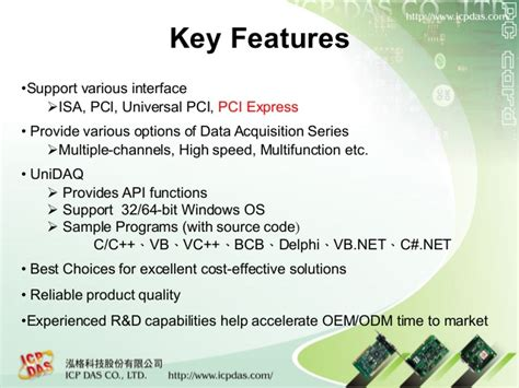 Icp Das Piso Ps400 Pci High Speed 4 Axis Motion Card icpdas pci daq card product introduction