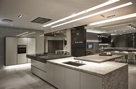 Kitchen With 2 Islands new blu line showroom at design quarter