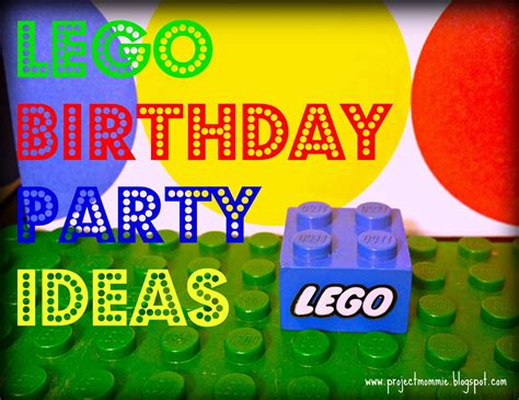 project mommie a lego race car 5th birthday party