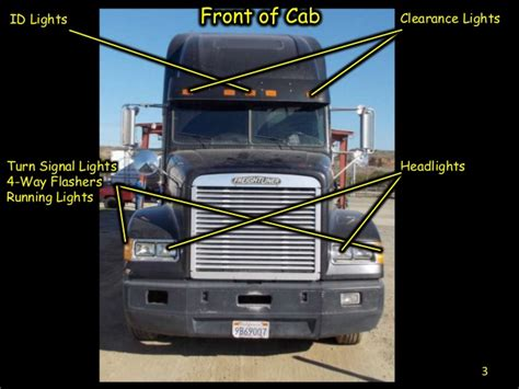tractor trailer pre trip inspection diagram cdl engine compartment diagram cdl pre inspection