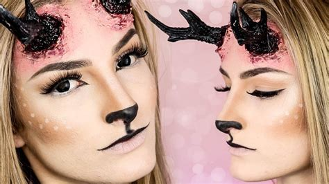 fx tutorial makeup reindeer fx makeup tutorial simple symphony fx youtube