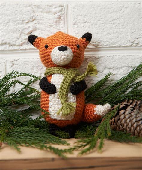 fox pattern pinterest fox amigurumi ornament free crochet pattern gifts