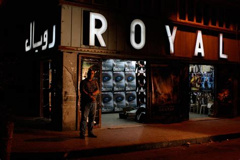 cinema 21 royal how s business moussa barbar manager cinema royal