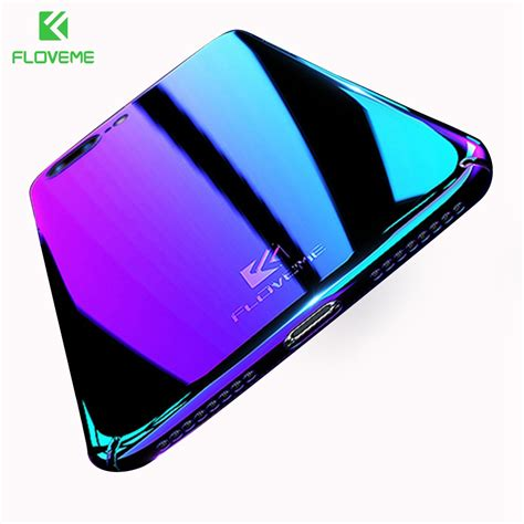 Floveme Gradient Blue Light Iphone 7 Plus 5 5 floveme cool blue for iphone 7 7 plus
