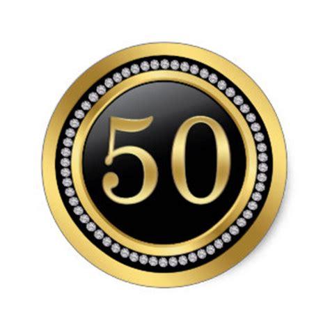 50th anniversary stickers   zazzle